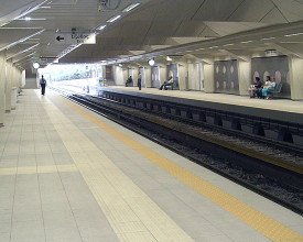 ISAP TRAIN STATION